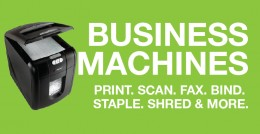 Promo - Business Machines
